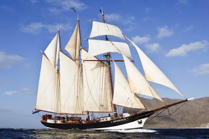 überführungstörns auf der Oosterschelde zeigt das Segelschiff