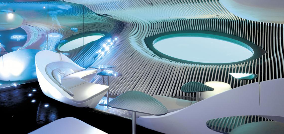 Ponant Blue Eye Unterwasser Lounge