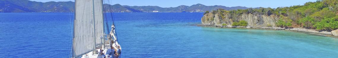 Sonderangebote fuer Singles zeigt ein Schiff auf den Bermudas