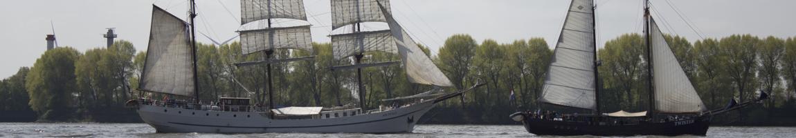 Tagestour Segelschiff Bild zeigt Windjammer in Hamburg