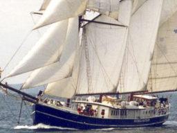 Segelstunden in Wilhelmshaven zeigt die Hendrika Bartelds