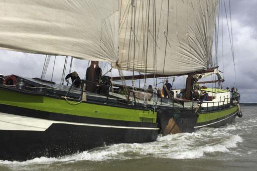 Genussreisen Bild zeigt das Segelschiff Wilhelmina