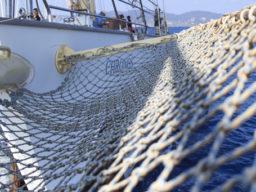 Segeln auf dem Atlantik zeigt Detail der Chronos