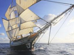 Segelreisen Karibik zeigt die SV Florette