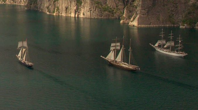 Sea Norway Segelreise zeigt 3 Traditionssegler