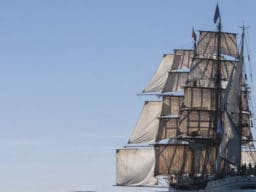 Segeln in Australien Bild zeigt die Bark Europa