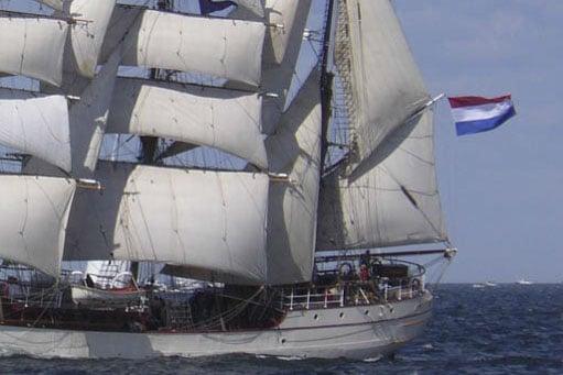 Rund um Kap Horn Bild zeigt die Bark Europa