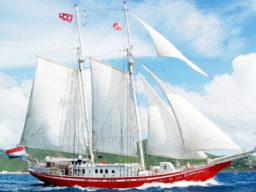 2 Mast Gaffelschoner Eldorado, Steuerbord
