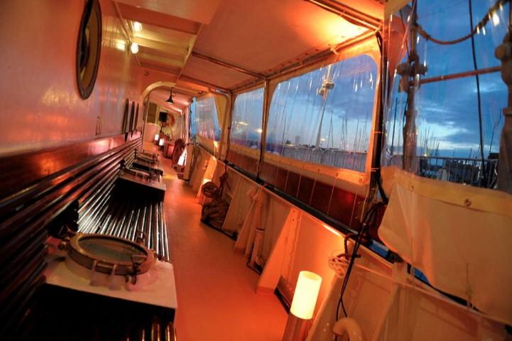 3 Mast Topsegelschoner Gulden Leeuw unter Deck