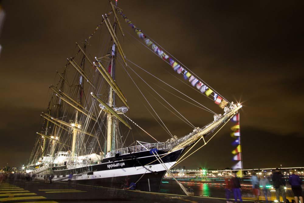 4 Mast Bark Kruzenshtern maritimer Event