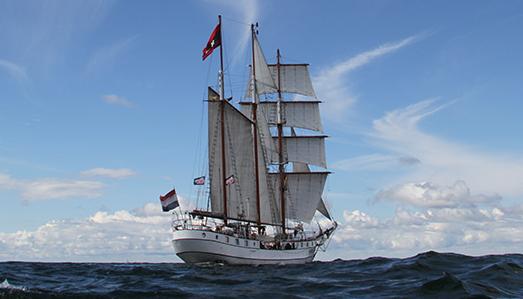 3 Mast Gaffelschoner