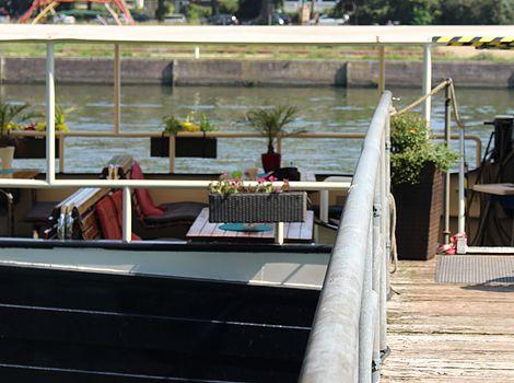 Flußschiff Marylou Decksansicht