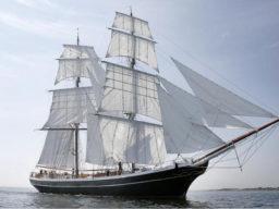 Brigg Morgenster segelnd