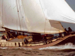 2 Mast Klipper Onrust, Steuerbord