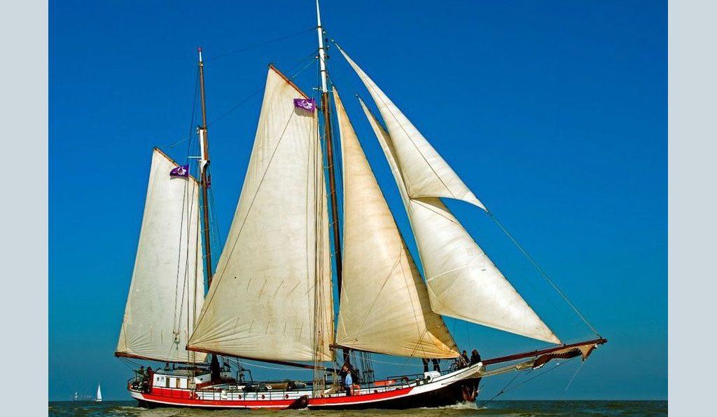 2 Mast Klipper Panta Rhei segelnd