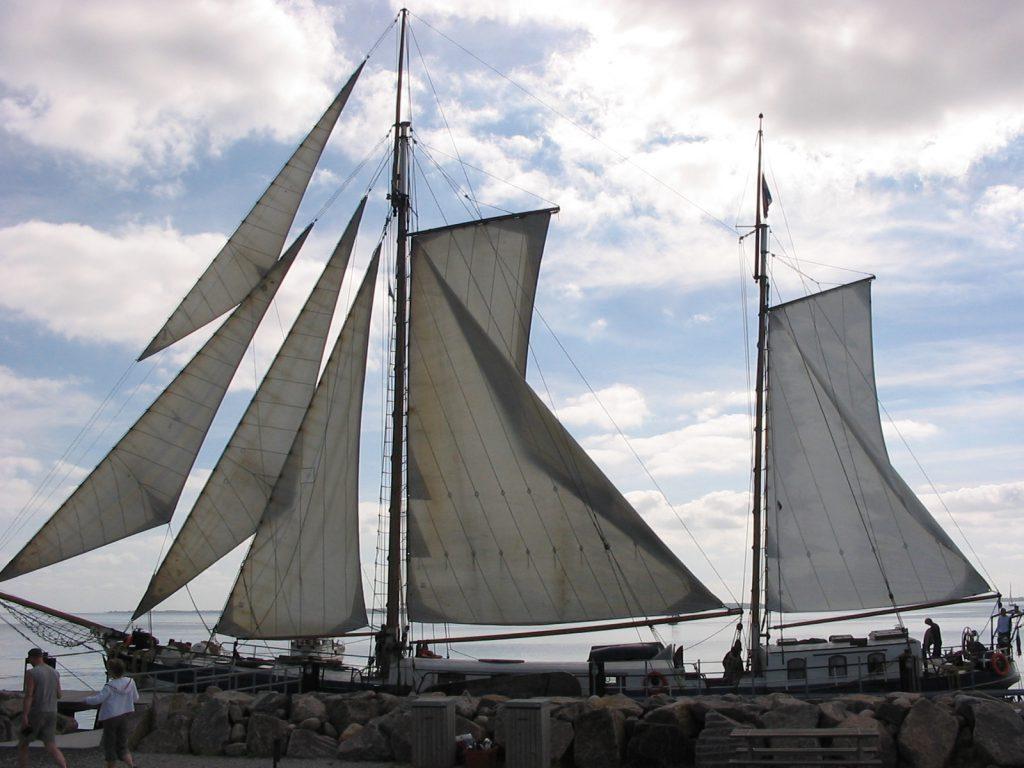 2 Mast Klipper Skylge, Steuerbord
