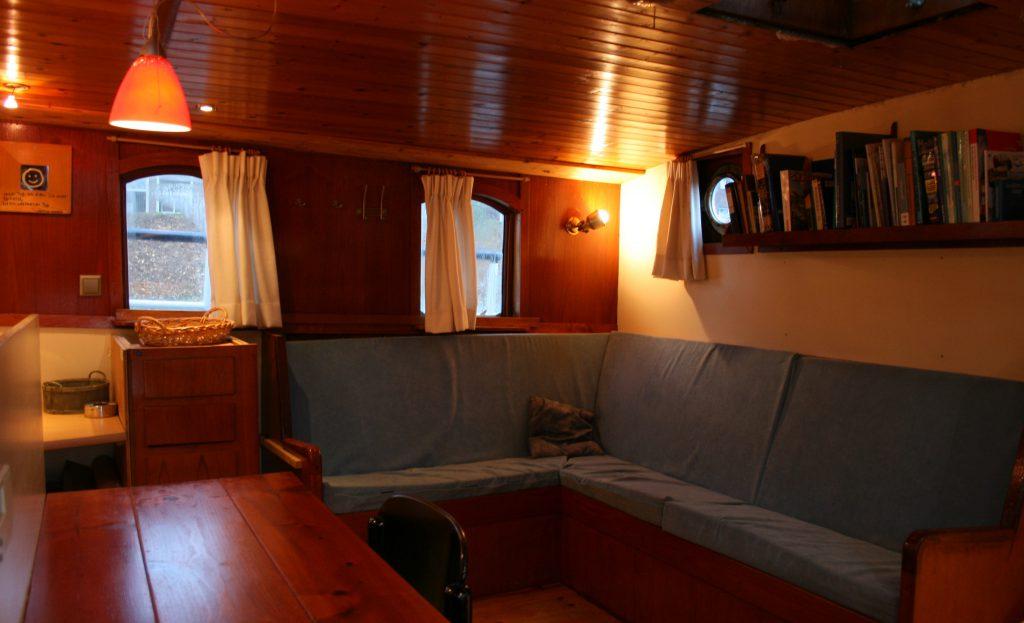 2 Mast Klipper Skylge, unter Deck