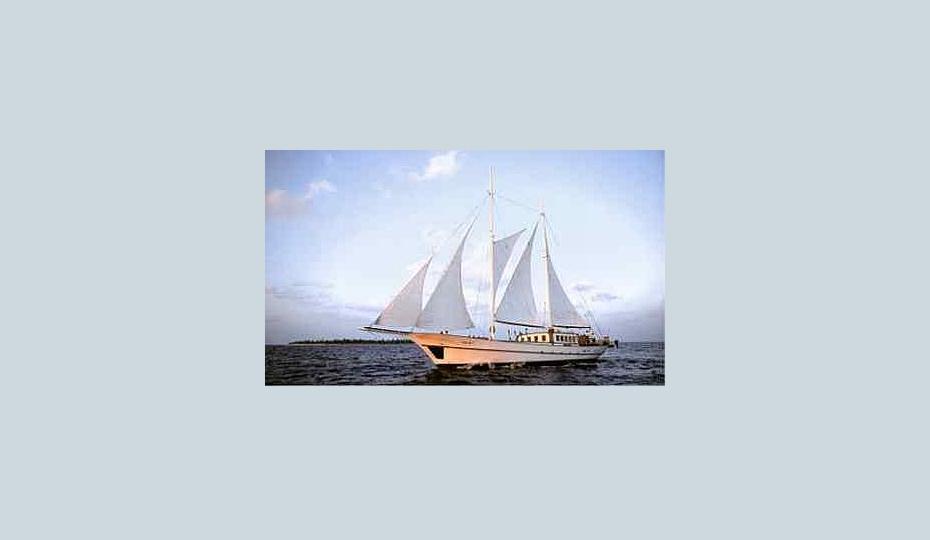 2 Mast Gullet Dream Voyager unter Segeln
