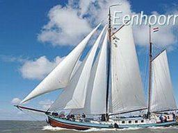 2 Mast Klipper Eenhorn segelnd