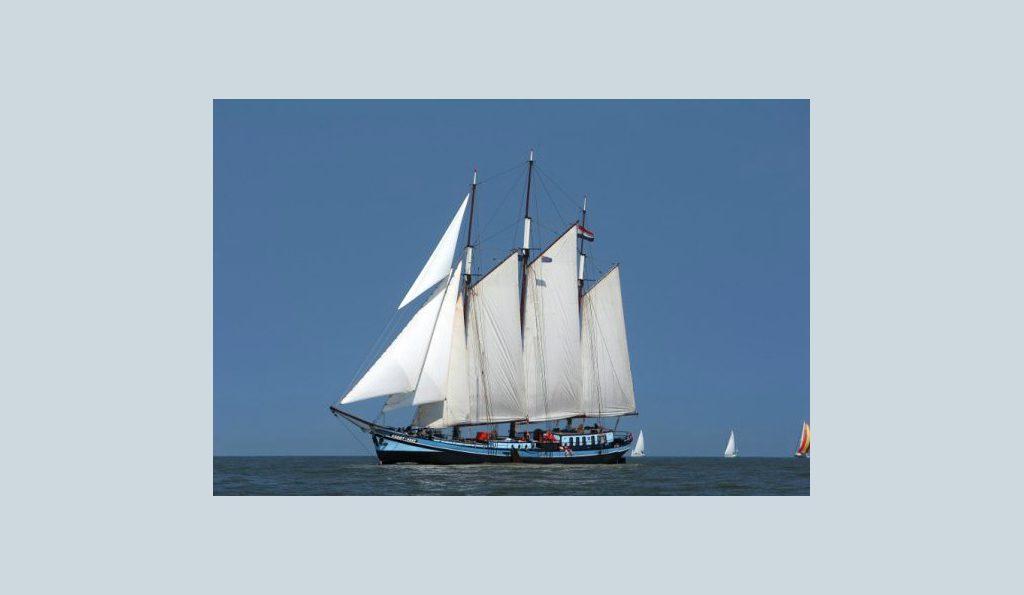 3 Mast Klipper Grootvorst segelnd