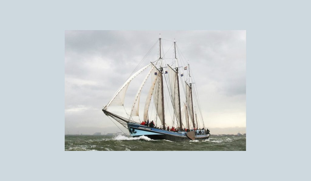 3 Mast Klipper Grootvorst Backbord