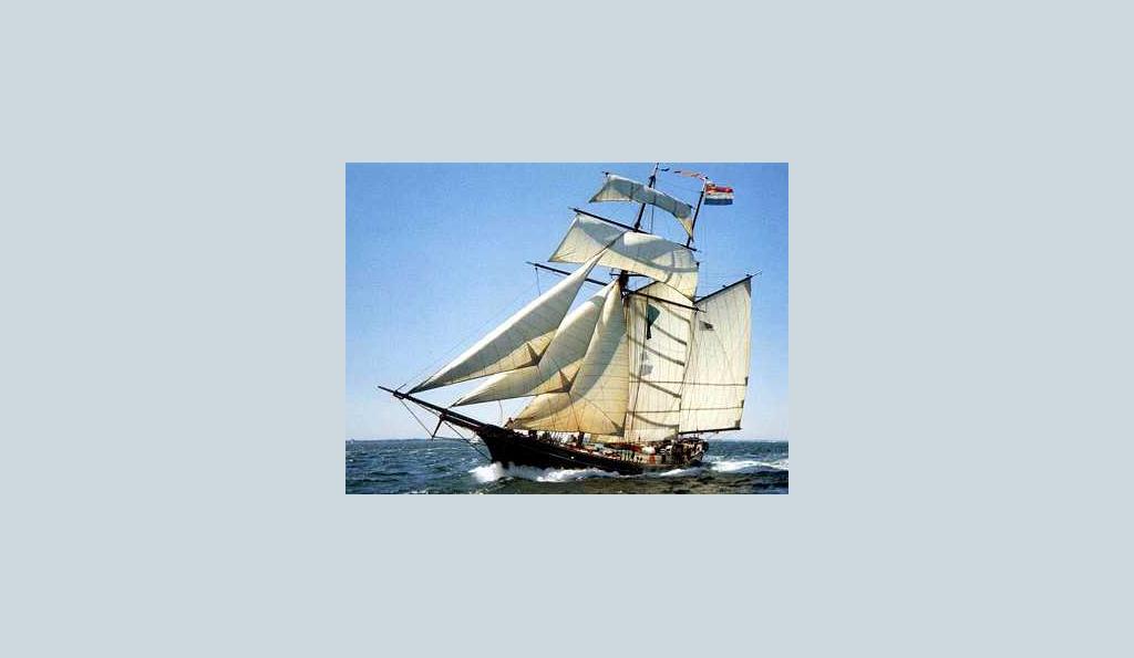 2 Mast Topsegelschoner Jacob Meindert, segelnd
