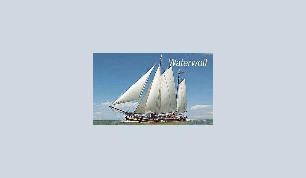 2 Mast Klipper Waterwolf, unter Segeln