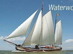 2 Mast Klipper Waterwolf Seitenansicht