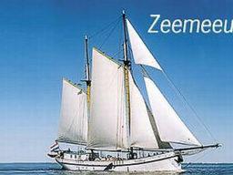 2 Mast Logger Zeemeeuw, Seitenansicht